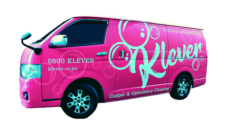 Who are the carpet cleaners driving the Pink vans in Auckland?